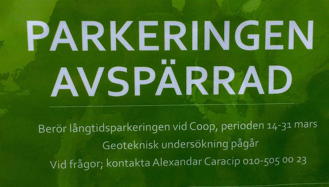 Parkering Rönninge C