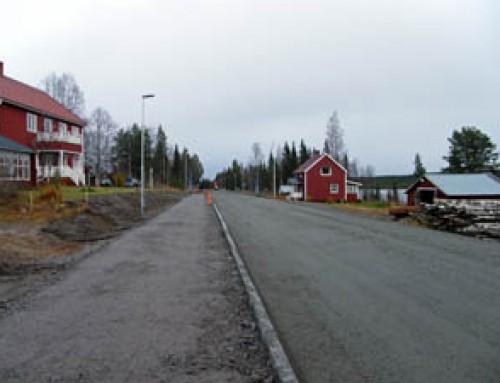 """Salems Kommun tillämpar """"förenklad avgift"""" för fastighetsägare när kommunen asfalterar och modifierar vägar"""