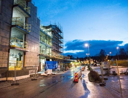 60 fler bostäder samt P-däck i Rönninge Centrum