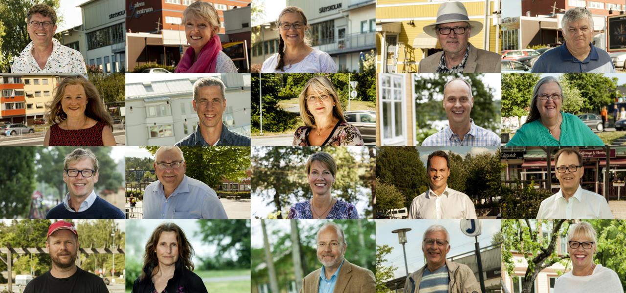 Alla på Rönningepartiets valsedel 2018